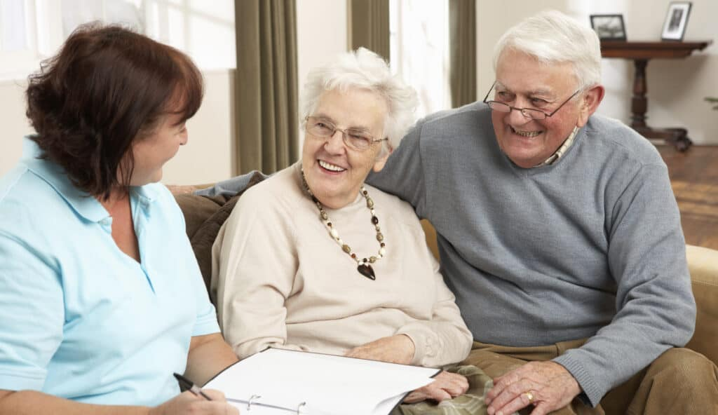 How do most people pay for senior living