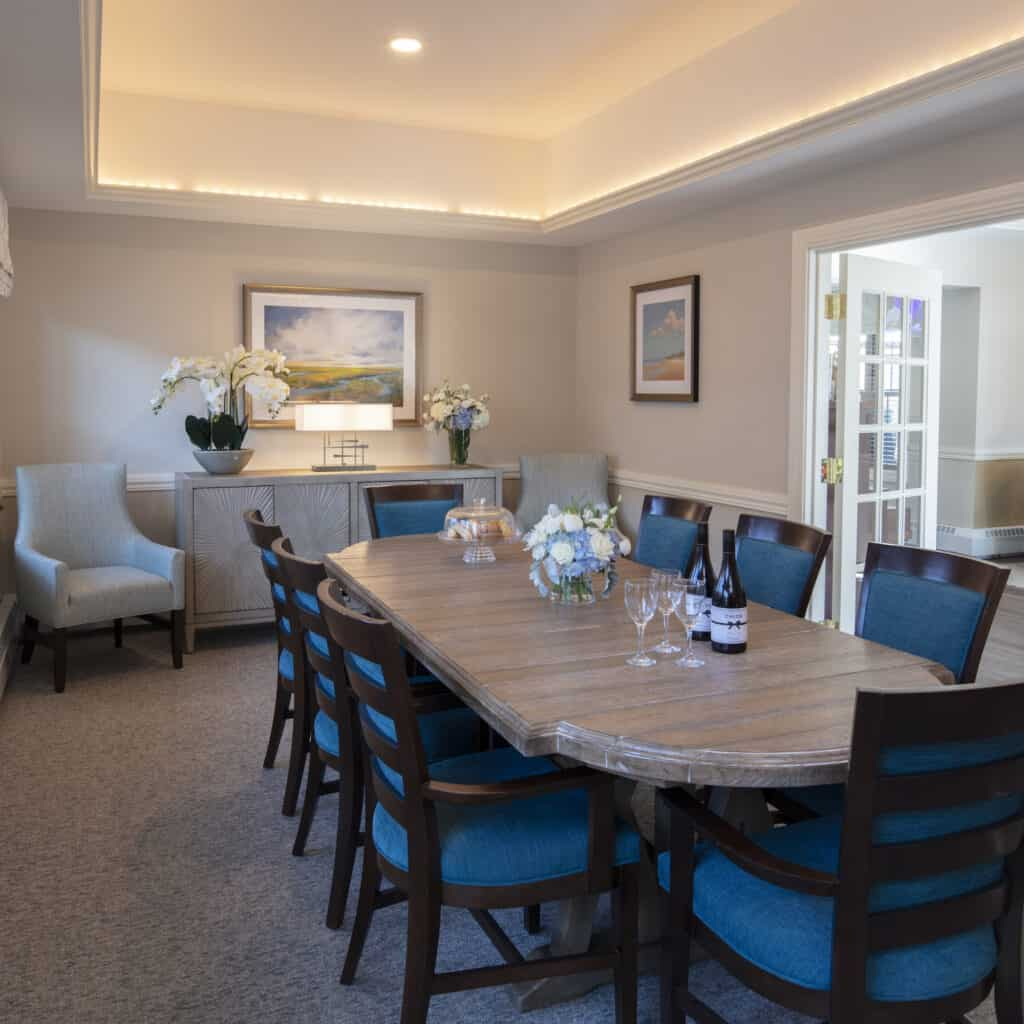 Compass on the Bay private dining room