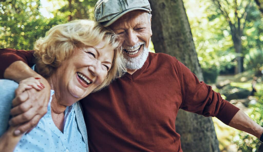 Health benefits being outside for seniors