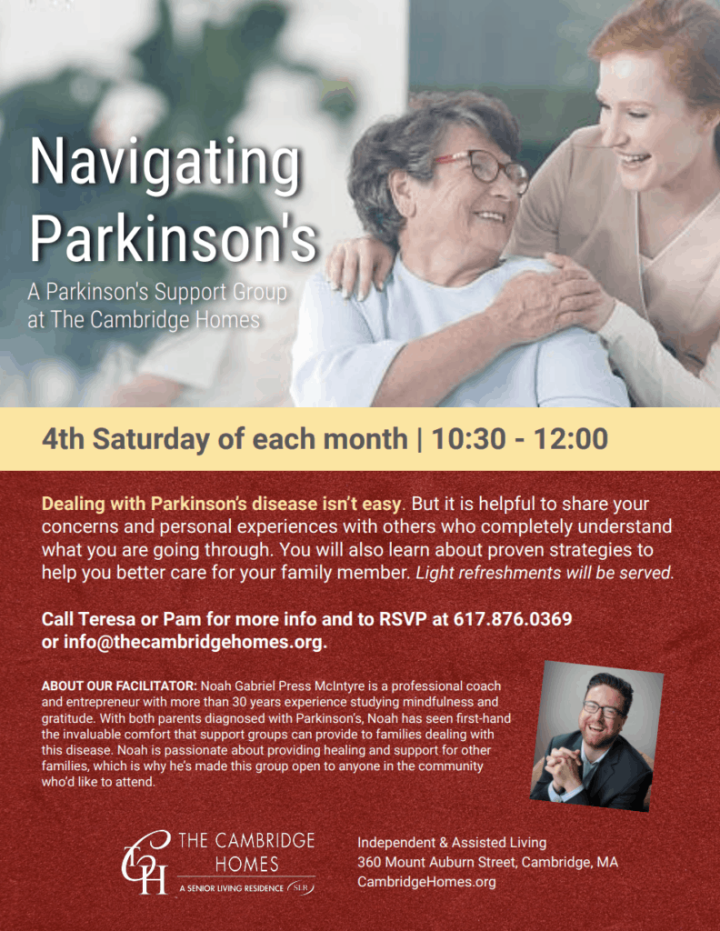 Cambridge Parkinson's Support Group