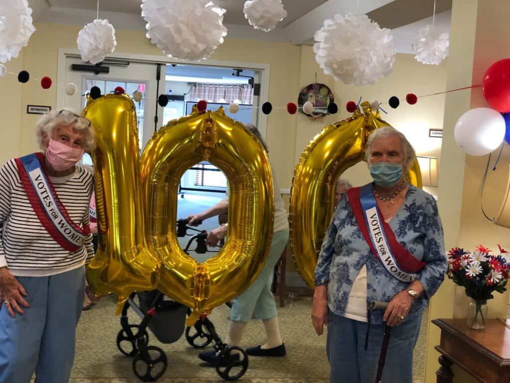 Methuen Village celebrates 100th anniversary of voting rights