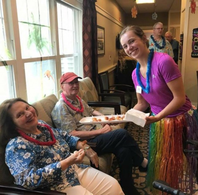 Innovative activities at Cornerstone Assisted Living in Canton
