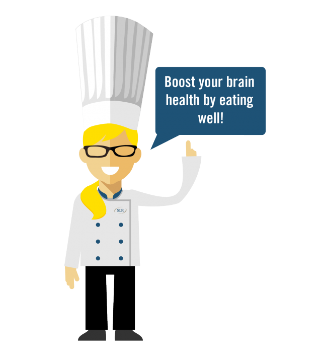 Brain Healthy Cooking Graphic